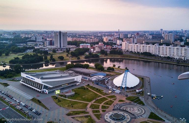 Фото Минска с крыши