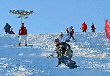 Зимний отдых в белорусском спортивном горнолыжном центре «Силичи»
