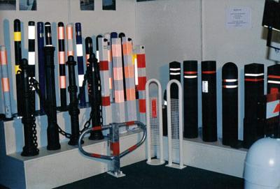 Парковочные столбики помогут организовать парковку