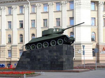 Монумент Танк-освободитель