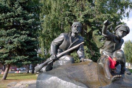 Памятник Сымон-Музыка