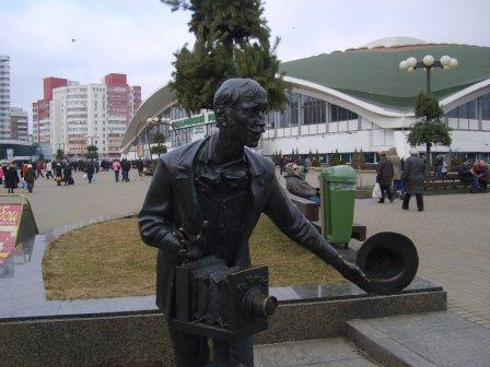 Скульптура «Фотограф»