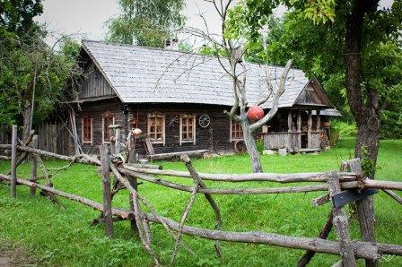 Белорусская хатка